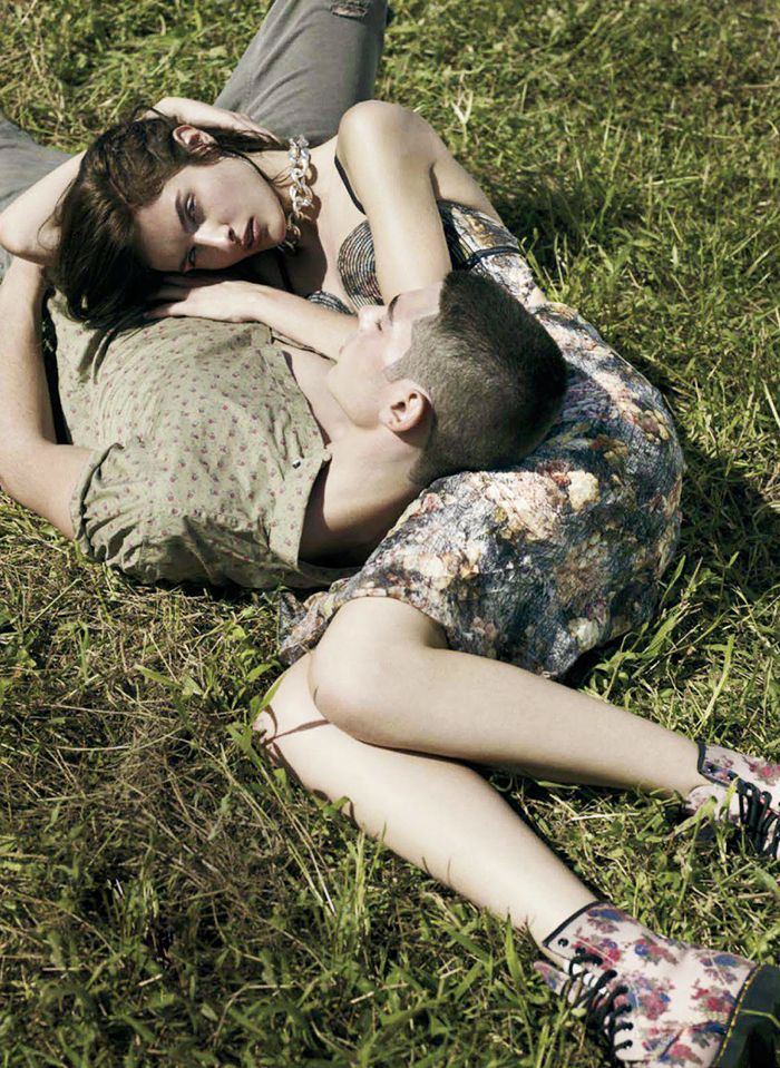 The Most Romantic Fashion Editorials on Pinterest via @WhoWhatWear
