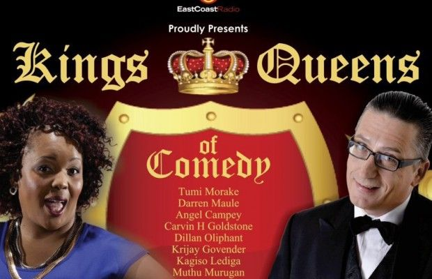 Kings and Queens of Comedy – 12 big names, 1 big night!
