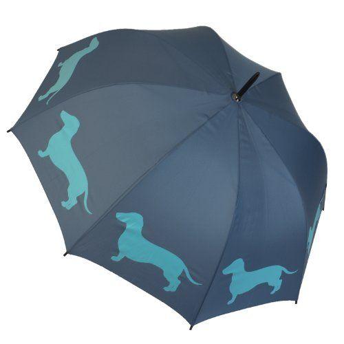 Dachshund Dog Silhouette Walking Stick Umbrella: Amazon.com: Clothing  want!