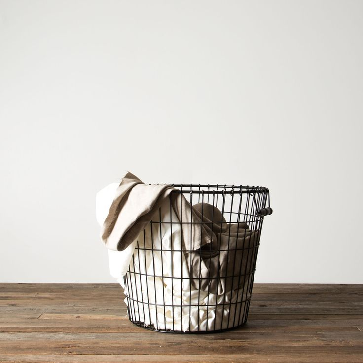 Black Laundry Basket -- Medium and or Large