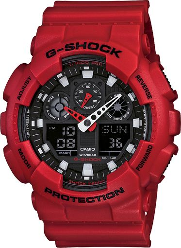 Casio - G-Shock - yes, pinned before but I love the bright coloured G-shocks
