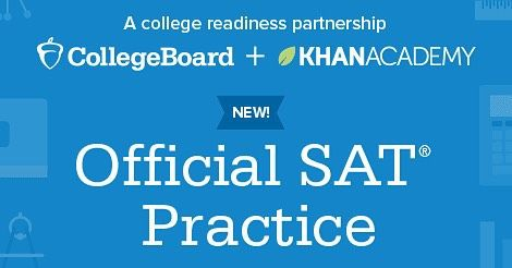 Access your #PSAT/NMSQT score tomorrow and start practicing for the #newSAT with Khan Academy! satpractice.org by collegeboard