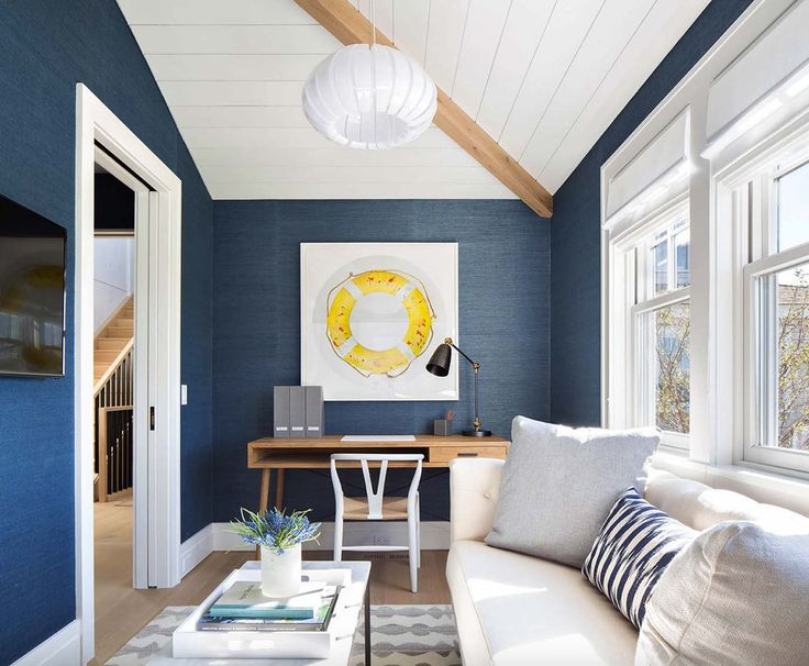 Shingle-style Nantucket beach home infused with nautical touches