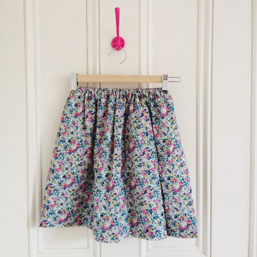 DIY Simple Skirts for Little Girls