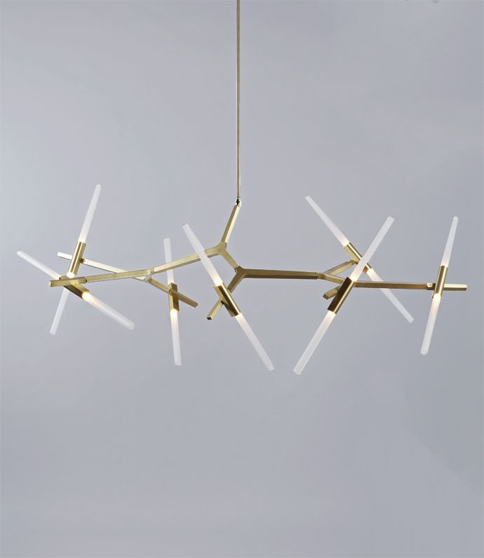 14 Bulb Agnes Chandelier by Lindsay Adelman exclusively for Roll & Hill