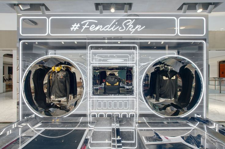 Fendi's Fall/Winter 2016-17 Men's Collection has popped up in at Beijing SKP!