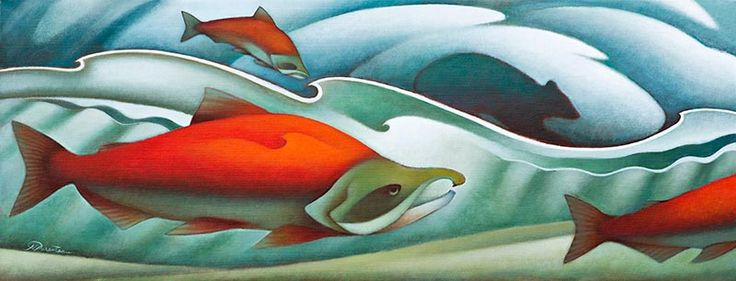 Song of the Salmon  by Nathalie Parenteau , yukon