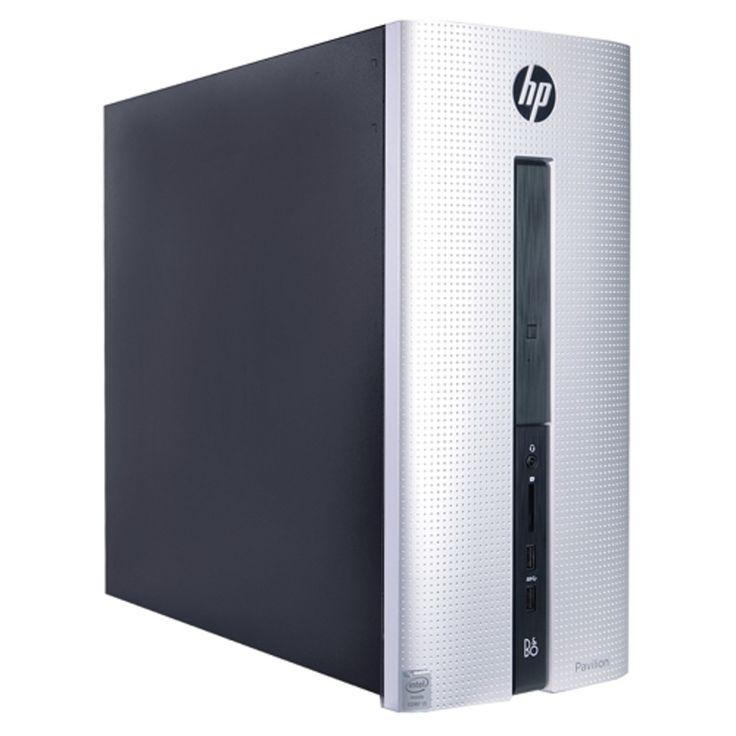 HP Pavilion 550-153w Core i3-4170 Dual-Core 3.7GHz 6GB 1TB DVD±RW W10H Desktop PC w/HDMI BT & WiFi-N - B