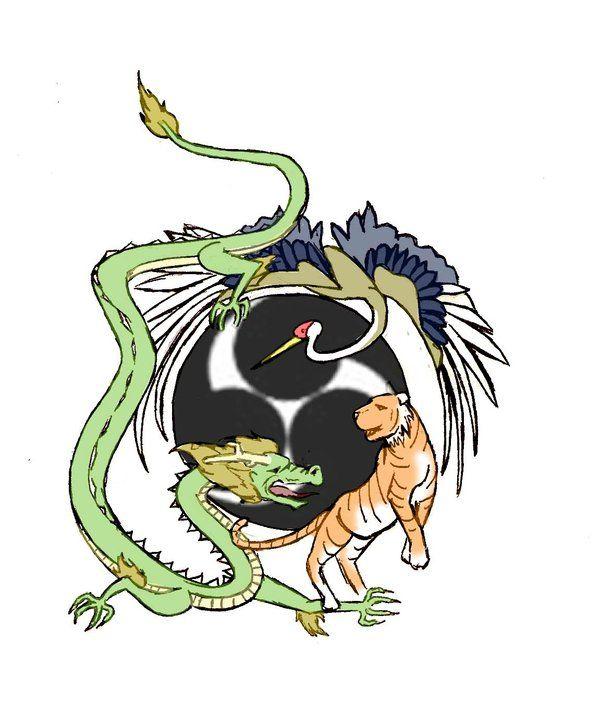 uechi ryu tiger crane dragon tattoo ideas pinterest tigers and dragon. Black Bedroom Furniture Sets. Home Design Ideas
