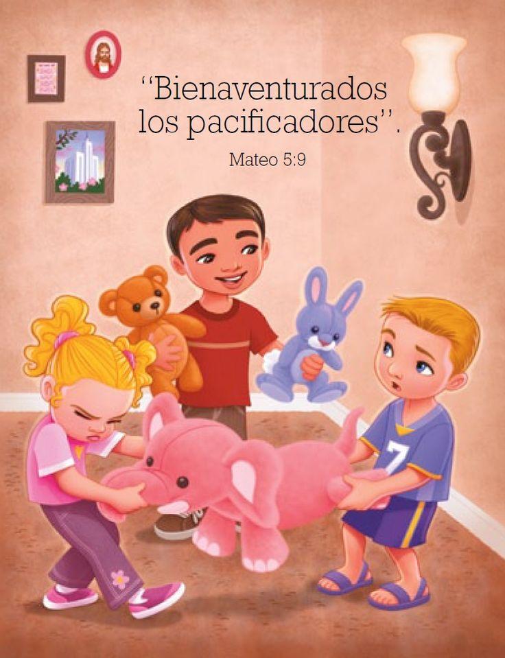 """""""Bienaventurados los pacificadores"""". Mateo 5:9 #SUDespanol #SUD #LDS"""