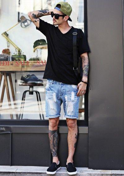 Vc tem shortinhos jeans? Eles são bem versáteis!