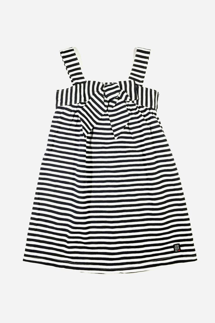 Jean Bourget Girls Bow Dress