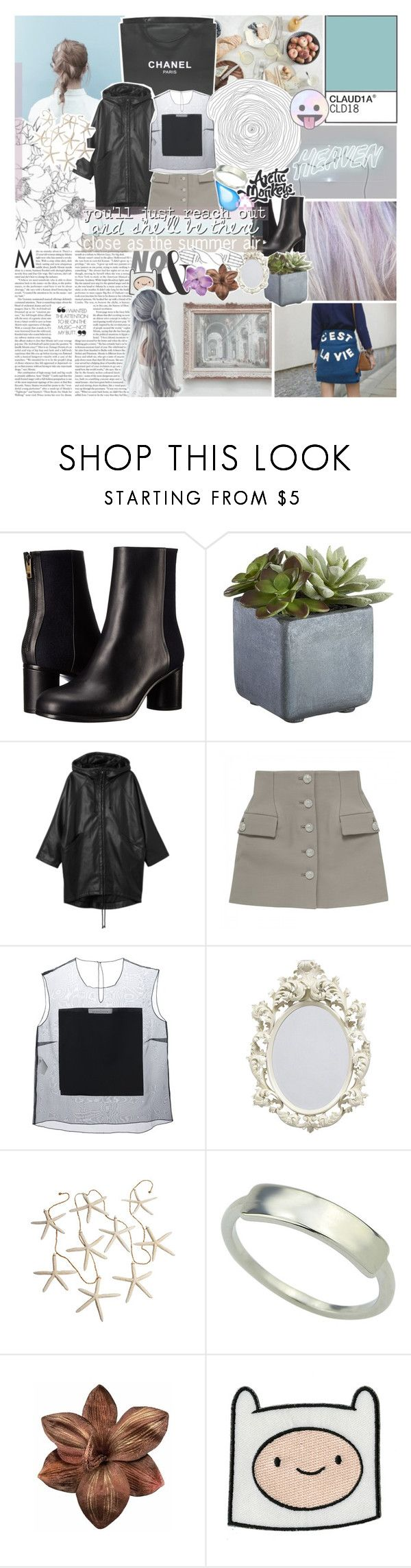 """""""stuck in a dream"""" by kristen-gregory-sexy-sports-babe ❤ liked on Polyvore featuring Chanel, Paul Smith, Crate and Barrel, Monki, Gianluca Capannolo and Clips"""