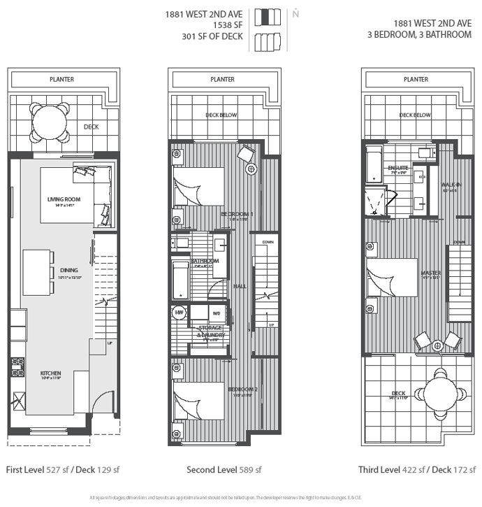 1000 images about town house on pinterest modern for Contemporary townhouse plans