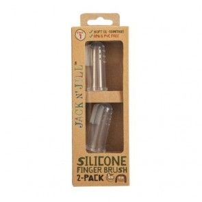 Jack N' Jill Silicone Finger Brush (Pack of 2)