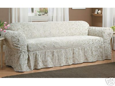 sofa covers cheap | new ashley champagne sofa loveseat slipcover 1 sofa and 1