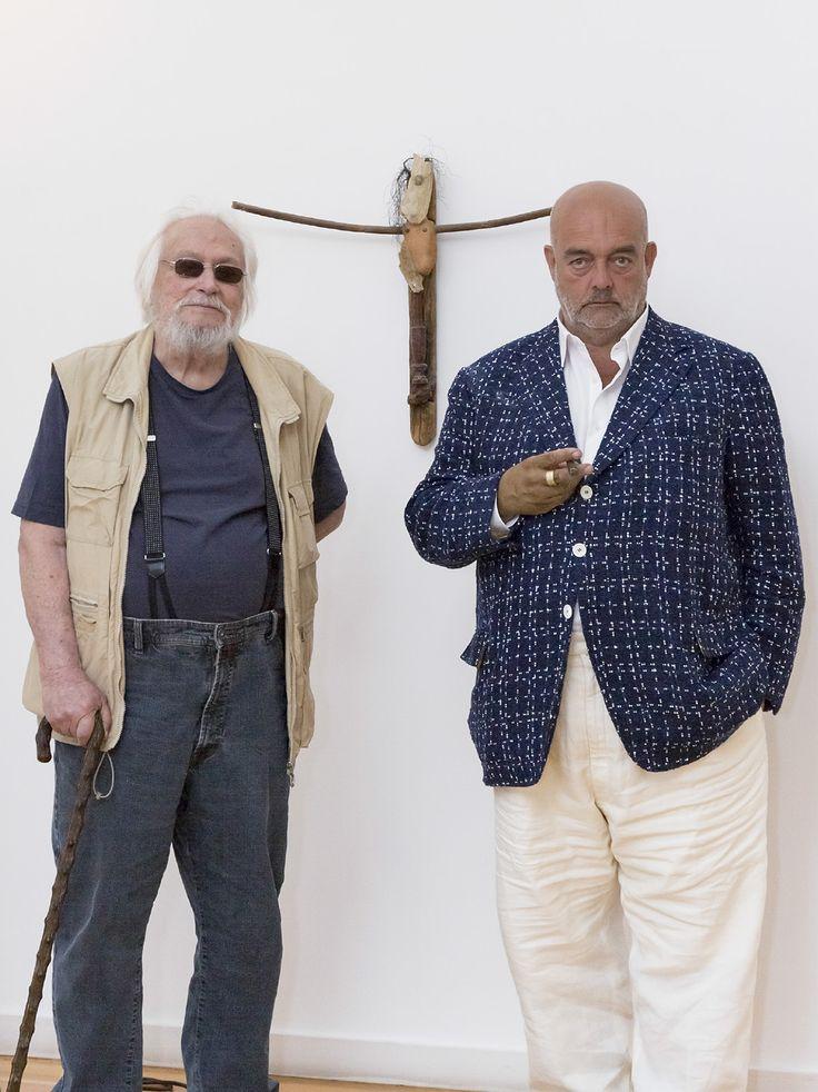 Júlio Pomar e Pedro Cabrita Reis - Das pequenas coisas.