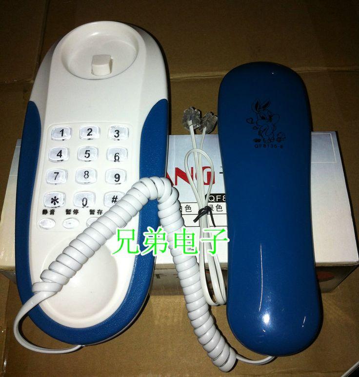 Новая / популярный телефон / телефон тостер небольшой дополнительный телефон крючок столики размещены