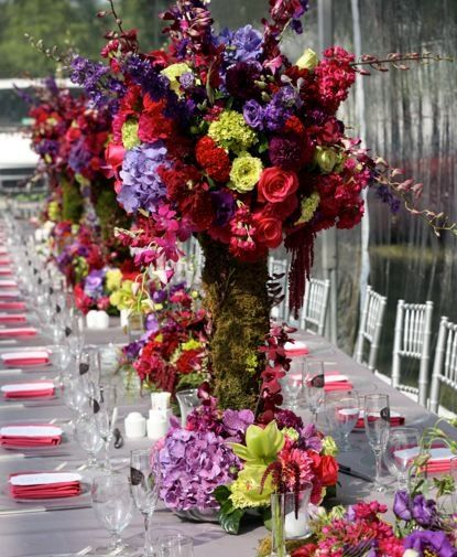 Purple And Red Wedding Ideas: 17 Best Images About Wedding Red Gold Purple On Pinterest