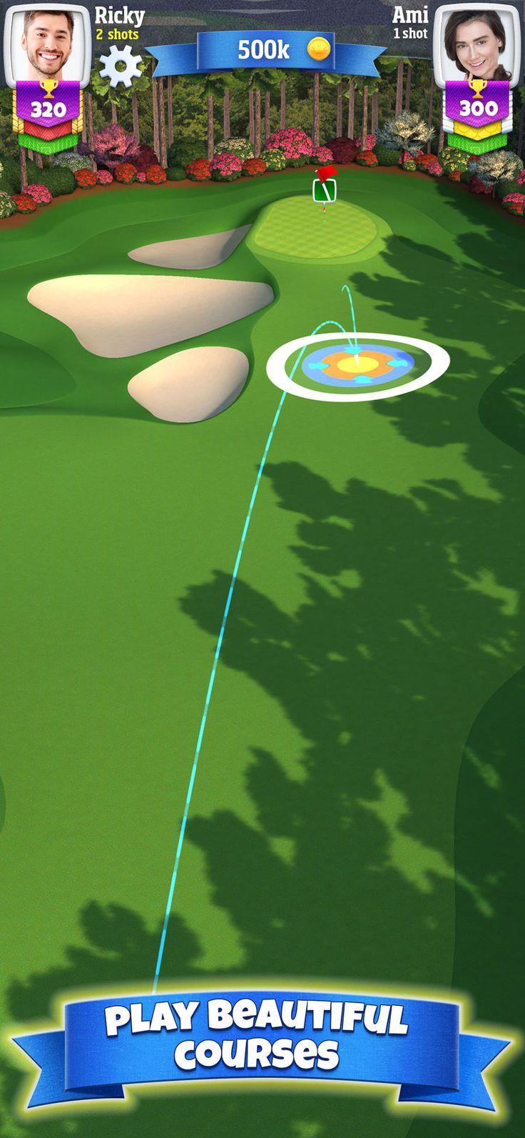 Golf Clash SimulationSportsappsios Golf, Golf videos