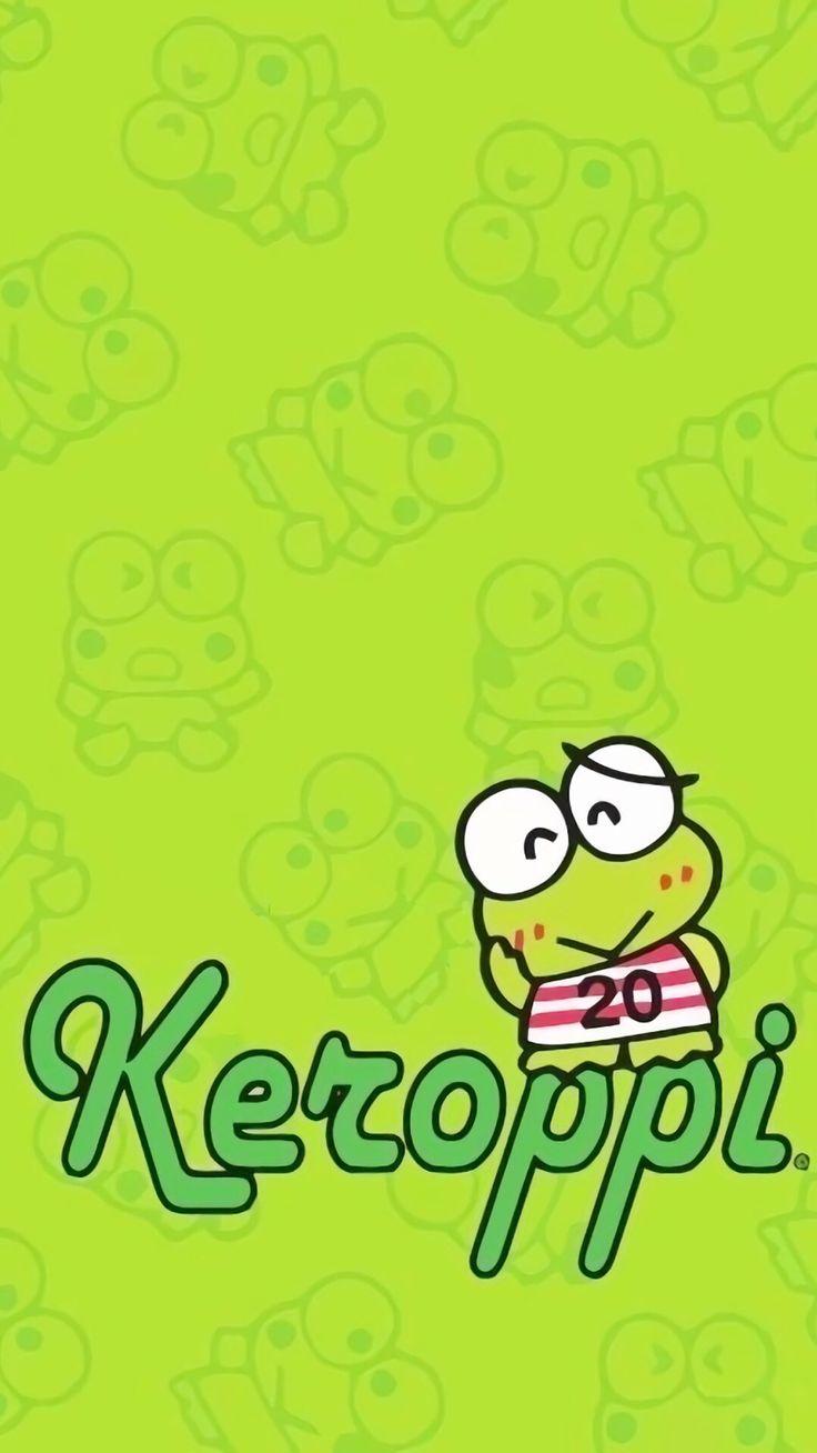 Keroppi keroppi wallpapersanrio characterswallpaper backgroundsiphone