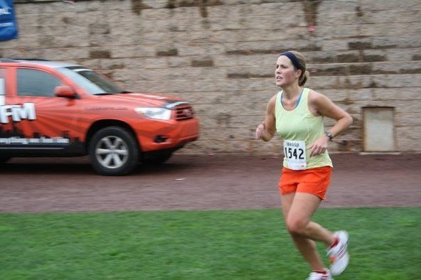 Real runners take walk breaks