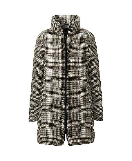 WOMEN ULTRA LIGHT DOWN PRINTED COAT ( via @Clementine Daily )