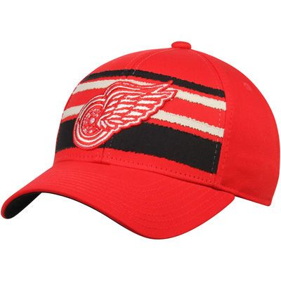 Detroit Red Wings CCM Team Logo Adjustable Hat - Red