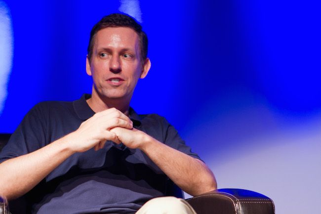 Mixup or mashup? Trump supporter Peter Thiel is partner in the startup incubator that's helping ACLU fight the Trump Muslim ban... #Trump #PeterThiel #Facebook #Lyft #Muslimban #StopPresidentBannon