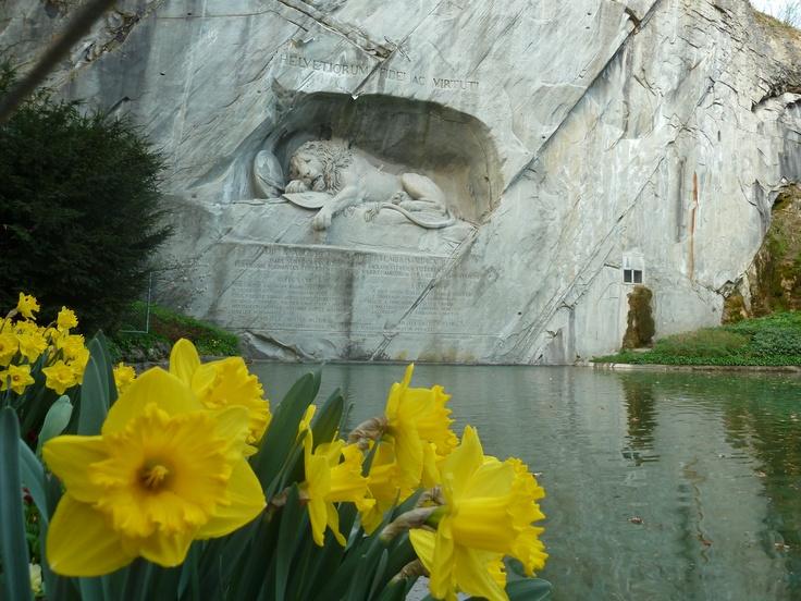 Dying Lion - Luzerne , Switzerland