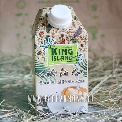 KING ISLAND Кокосовые сливки для кофе