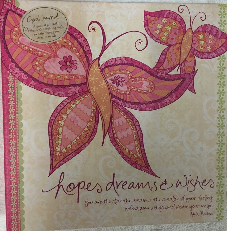 Hope Dreams & Wishes Journal by Intrinsic