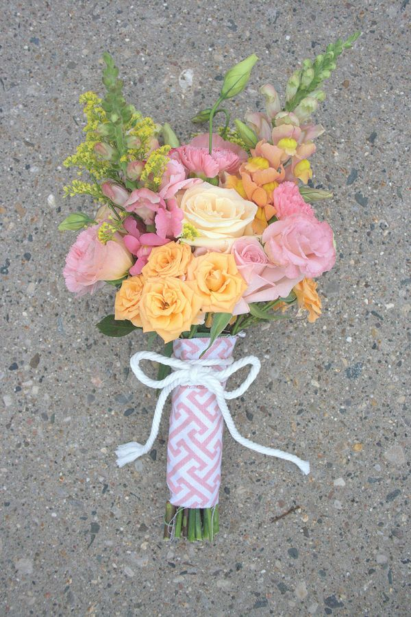 DIY Wedding Bouquet #VillageFeteWedding #weddingideas #weddingfun #weddingflowers