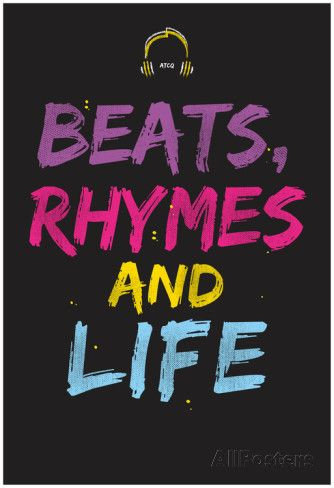 Beats Rhymes And Life Pôsteres na AllPosters.com.br