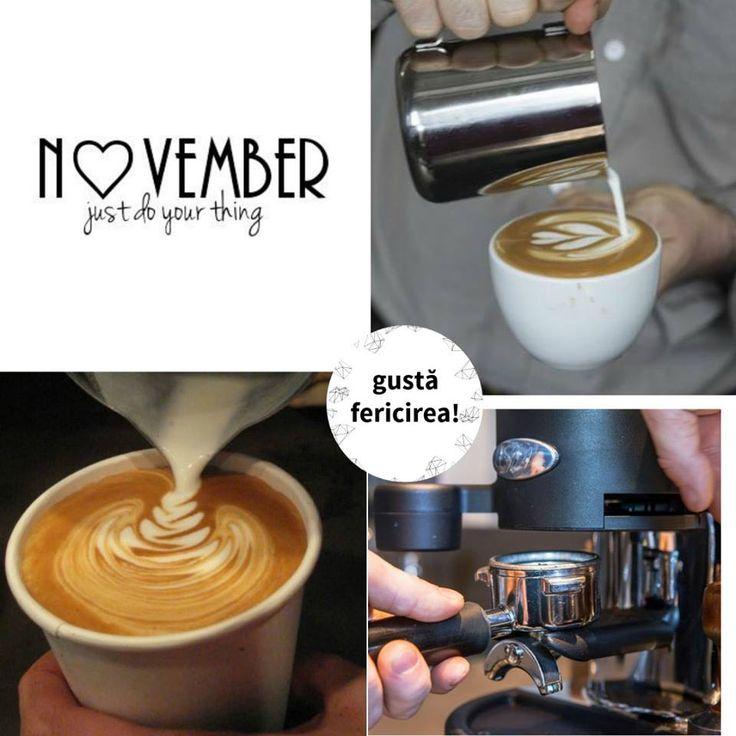 Prima cafea cu gust de noiembrie. Ce gust îți aduce luna asta? #cafea #pitesti #fericirea #cremeriamarco