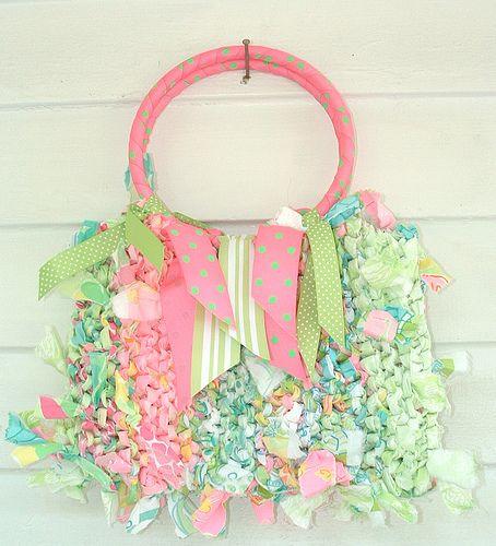 Bolso de retazos de tela - Rag bag: Idea, Craft, Crochet Bags, Basic Rag, Rag Bags, Crochet Patterns, Purses Bags, Photo