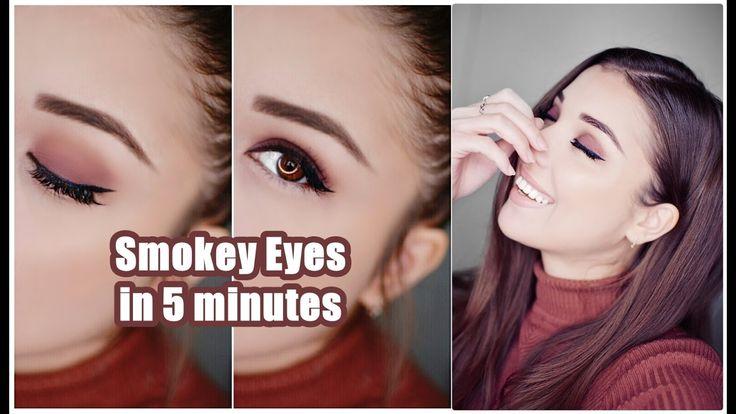 Супер легкий и быстрый смоки макияж \ Super easy fast smokey eye makeup