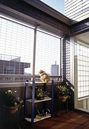 play area in balcony
