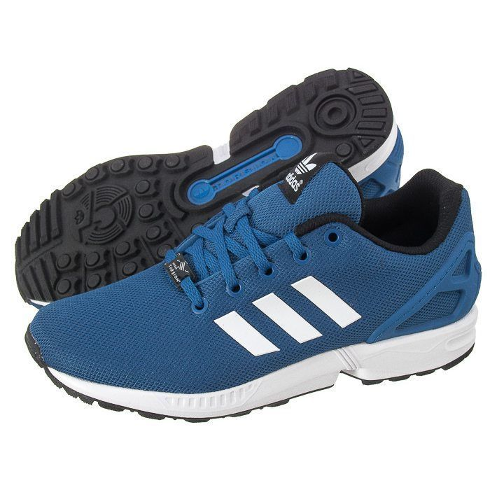adidas ZX Flux Blue Trainers #adidas #Trainers