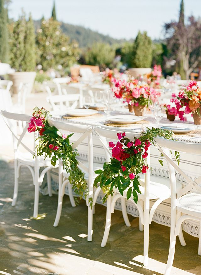 La Tavola Fine Linen Rental: Dante Indigo | Photography: CHristina McNeill, Event Planning & Design: Shannon Leahy Events, Venue: Black Swan Lake, Florals: Cherries Flowers, Catering: Elaine Bell Catering, Rentals: Hensley