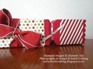 Knall Crafting! Christmas Cracker - Stampin' Up! Envelope Punch Board