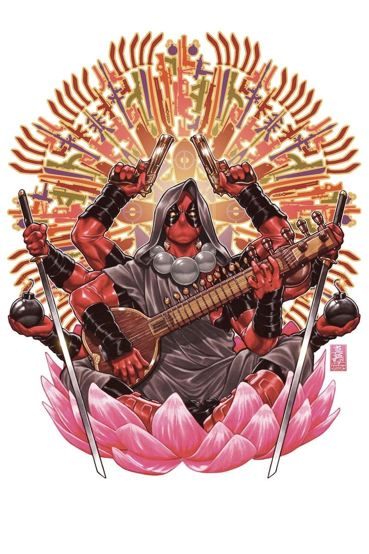 DEADPOOL #37 ... NOVEMBER 2014  ... GERRY DUGGAN & BRIAN POSEHN (W) MIKE HAWTHORNE (A) Cover by MARK BROOKS ROCKET RACCOON & GROOT VARIANT BY TBA AXIS TIE-INS!  • Deadpool has given up violence in favor of enlightenment!  • How that will protect his FauX-Men friends from the real X-Men, I don't know.  • Plus: Cowboy stuff!