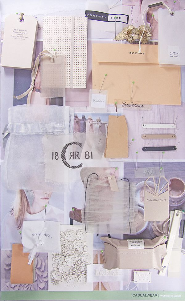 Transversal research, RECA GROUP MOODBOARD Research tools available for made-to-measure results Moodboard, CASUALWEAR \WOMENSWEAR