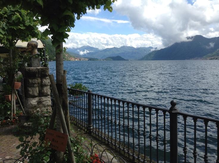 Domenica pigra sul lago di Como