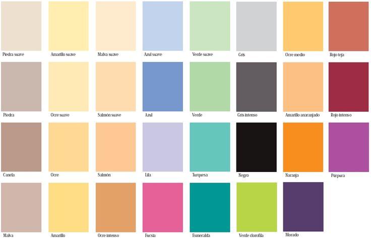 18 best images about combinaci n de colores on pinterest - Colores de habitacion ...