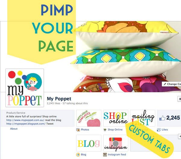 Customise your Facebook Business Page
