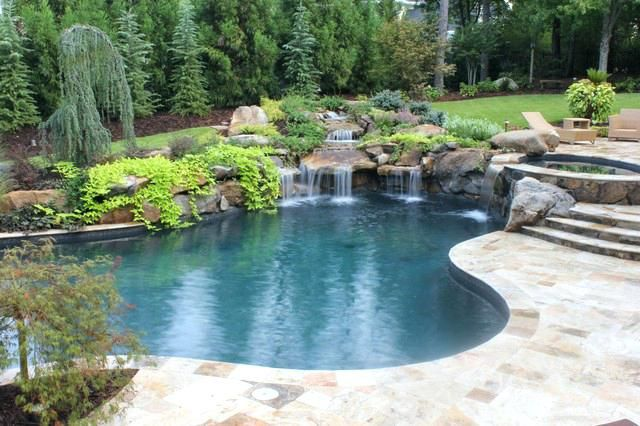 Waterfalls For Pools In Perth Pools And Waterfalls Traditional