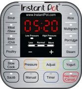 IP DUO Control panel 166x180 Instant Pot IP DUO Series Specifications