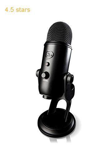 Blue Yeti USB Microphone Blackout