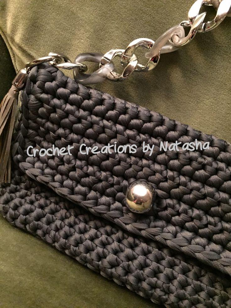 Black grey crochet handmade summer handbag. Ready to fly to Thessaloniki... #crochet #crochetbag #crocheting #crochetcreationsbynatasha #summerbag #itshandmade #crochetaddict  #fabulous #chic #crochet #crochetbag  #handibrand #fashion #fashionblogger #moda #fashionista #crochetbag #newlabel #newdesigns #iloveit #instafashion #greekfashionblogger #fashionmagazine #fashionworld #fashionstylist #uniquestyle #independentdesigners #independentdesignersrock #instamood #iloveshoppingforbags…